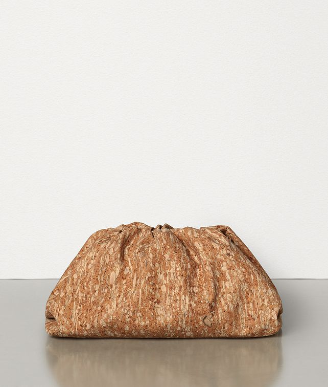 BOTTEGA VENETA THE POUCH IN CORK Clutch Woman fp