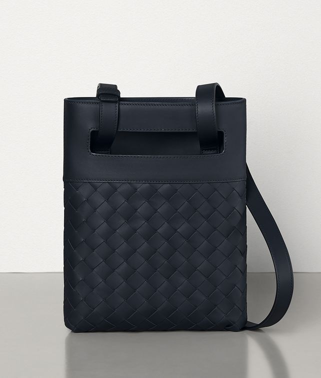 BOTTEGA VENETA MESSENGER BAG IN INTRECCIATO VN Messenger Bag Man fp