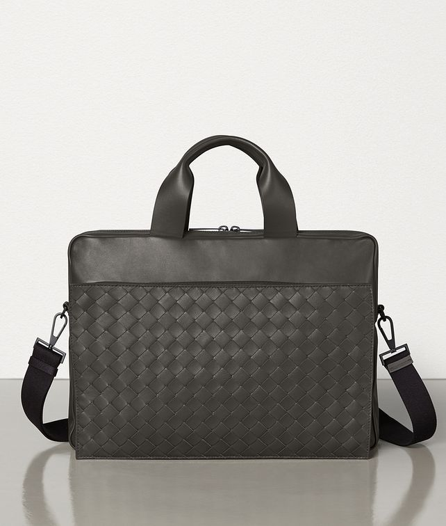 BOTTEGA VENETA BRIEFCASE IN ULTRALIGHT LEATHER Business bag Man fp