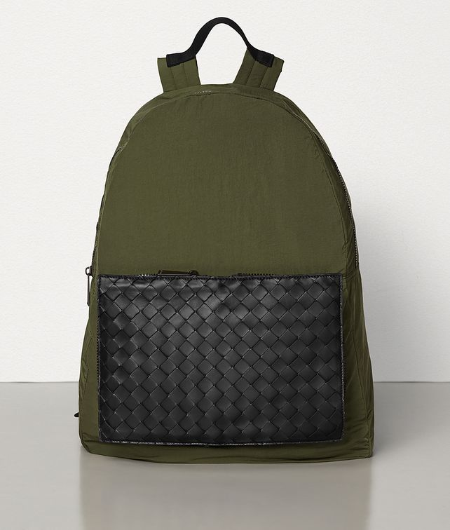 BOTTEGA VENETA MEDIUM BACKPACK IN LIGHT PAPER NYLON Backpack Man fp