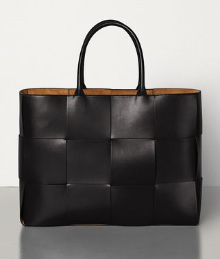 TOTE IN URBAN LEATHER CALF