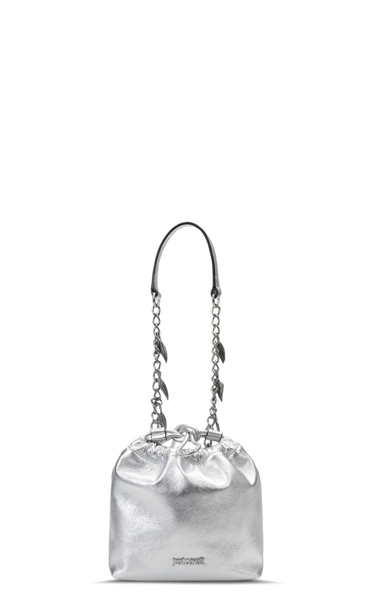 JUST CAVALLI Bucket bag with chain Crossbody Bag Woman f