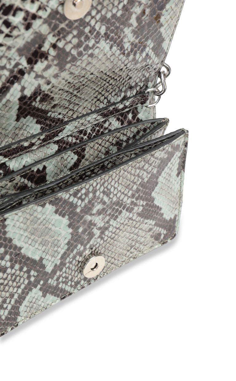 JUST CAVALLI Python-print bag with chain Crossbody Bag Woman a