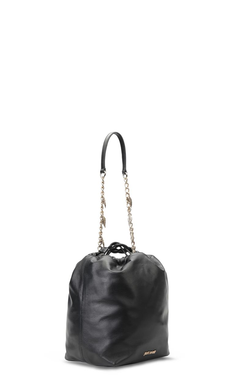 JUST CAVALLI Bucket bag with chain Crossbody Bag Woman r
