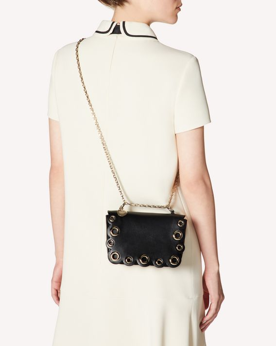 REDValentino RED WAVES SHOULDER BAG