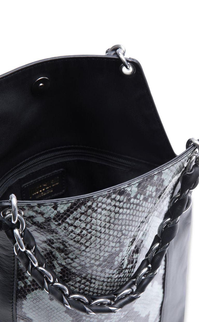 JUST CAVALLI Python-pattern shoulder bag Crossbody Bag Woman a