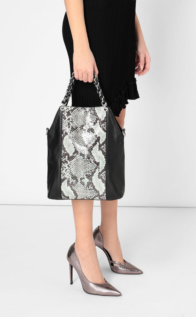 JUST CAVALLI Python-pattern shoulder bag Crossbody Bag Woman d