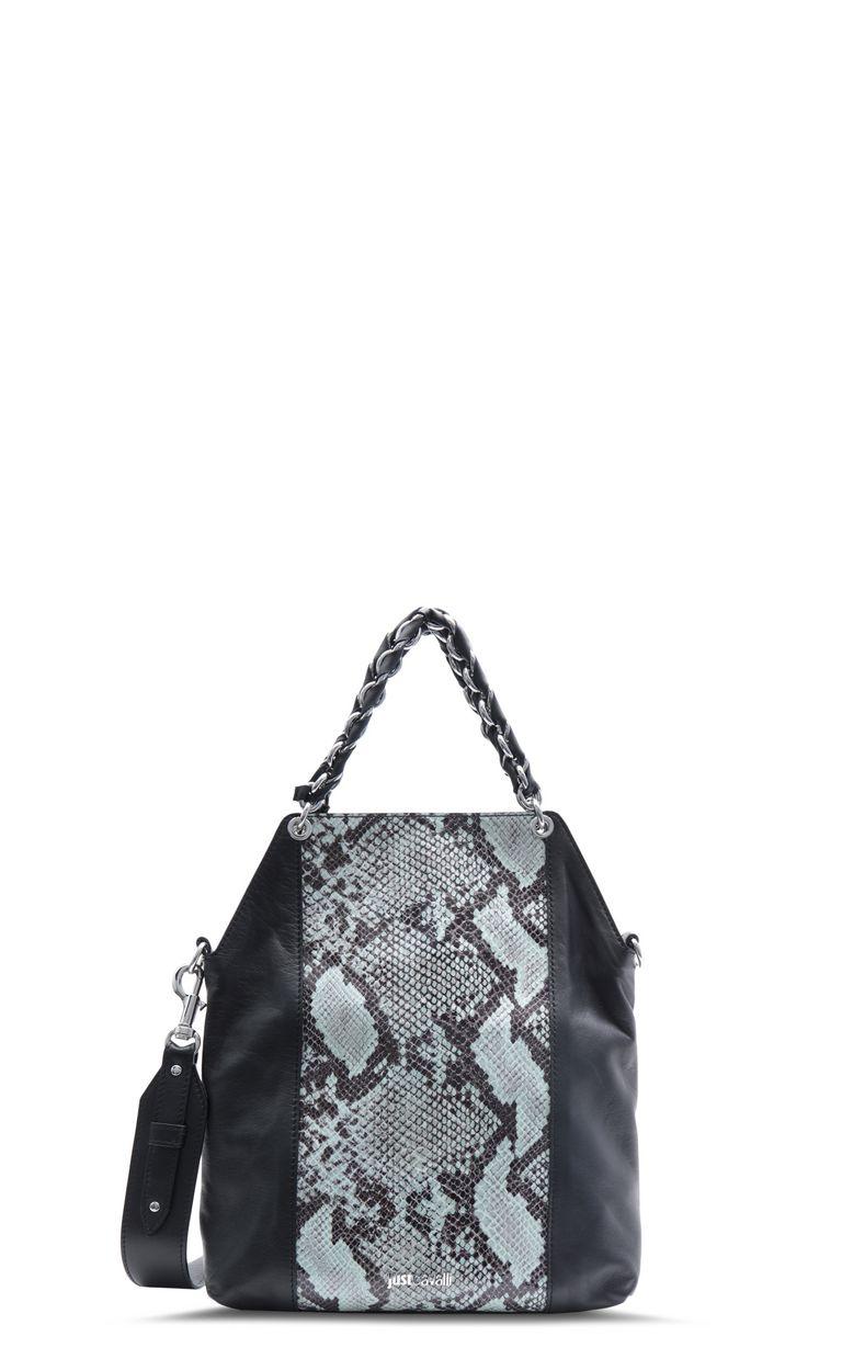 JUST CAVALLI Python-pattern shoulder bag Crossbody Bag Woman f