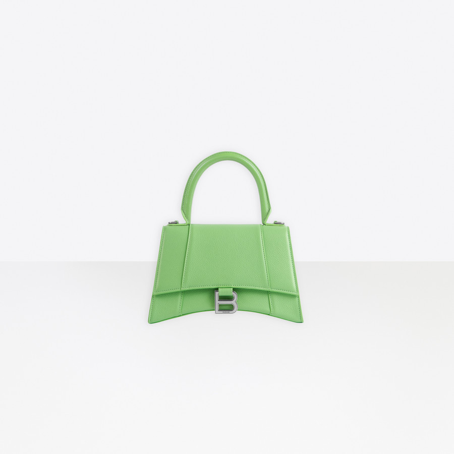 Hourglass Small Top Handle Bag for