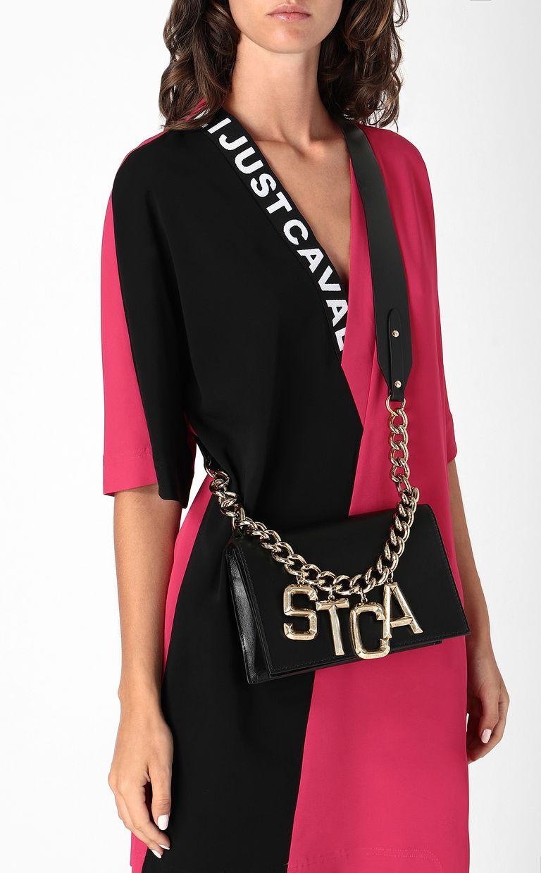 JUST CAVALLI Crossbody bag with STCA logo Crossbody Bag Woman d