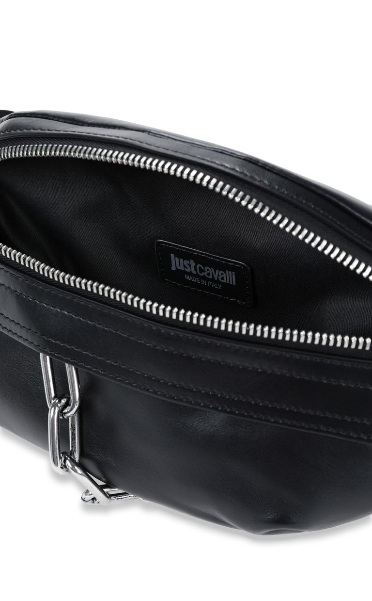 JUST CAVALLI Belt bag with STCA logo Crossbody Bag Man a