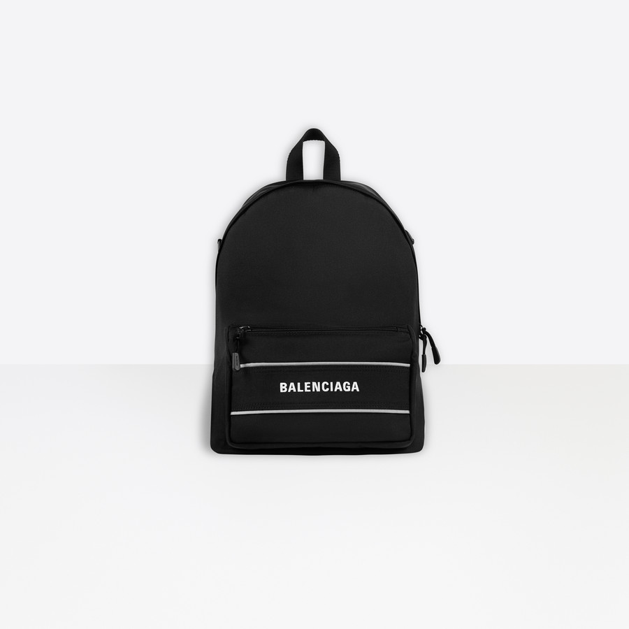 Sport Crossbody Backpack BLACK / WHITE