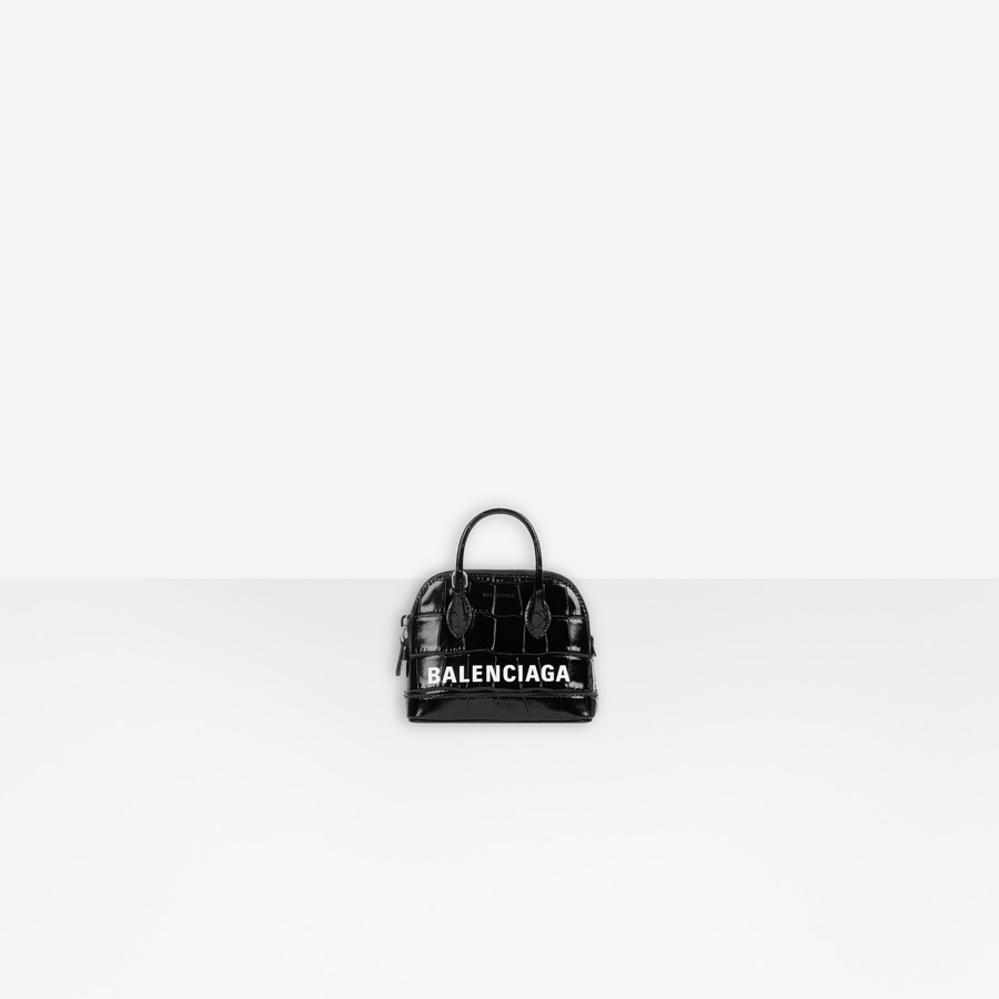 Ville Mini Top Handle BLACK / WHITE for