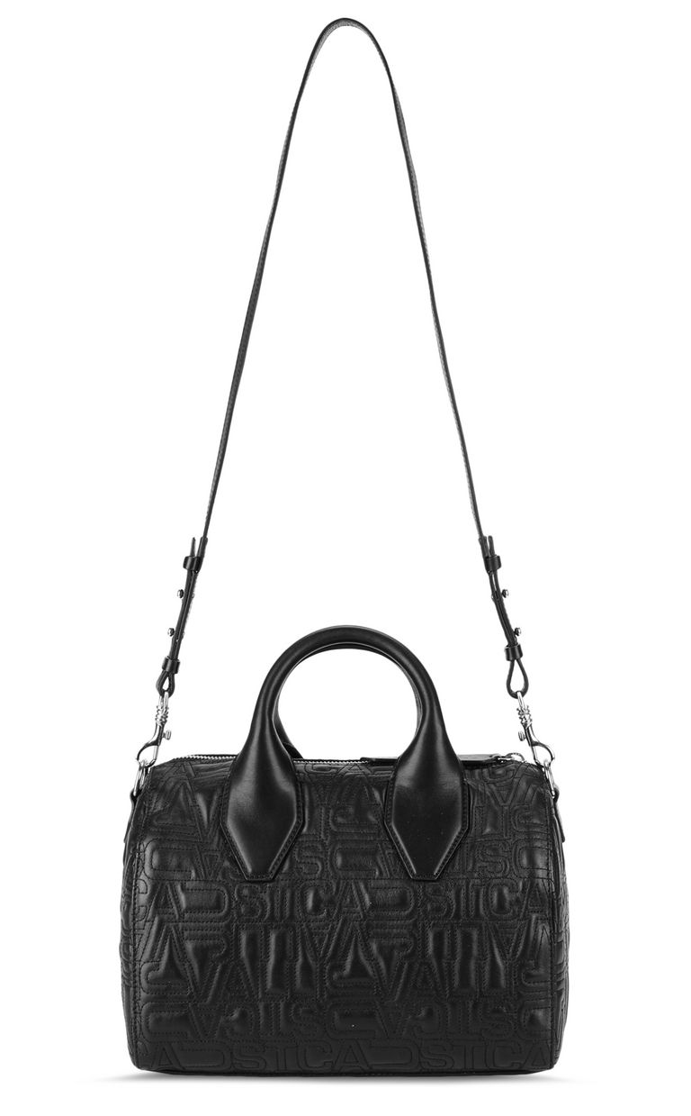 JUST CAVALLI Boston bag in quilted leather Crossbody Bag Woman e