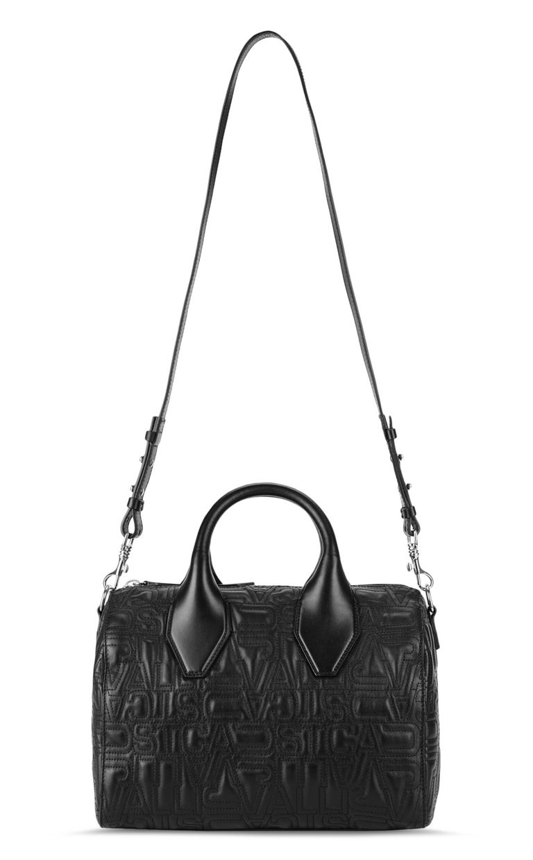 JUST CAVALLI Boston bag in quilted leather Crossbody Bag Woman f