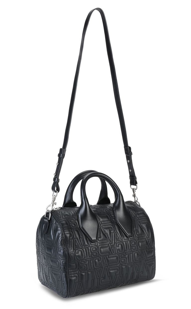 JUST CAVALLI Boston bag in quilted leather Crossbody Bag Woman r