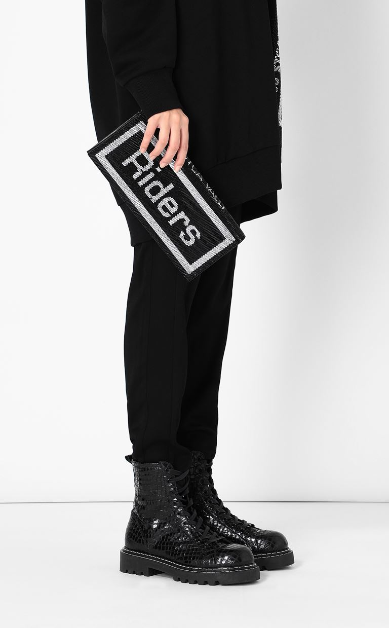 JUST CAVALLI Clutch bag with logo Clutch Woman d