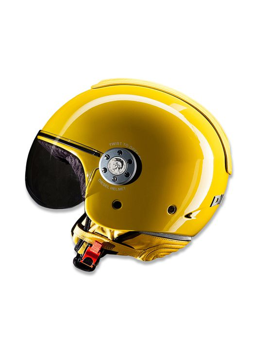 LIVING MOWIE YELLOW Helmet E f