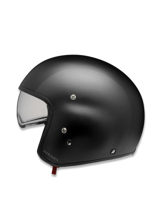 LIVING HI-JACK GREY/BLACK MATT Helmet E f