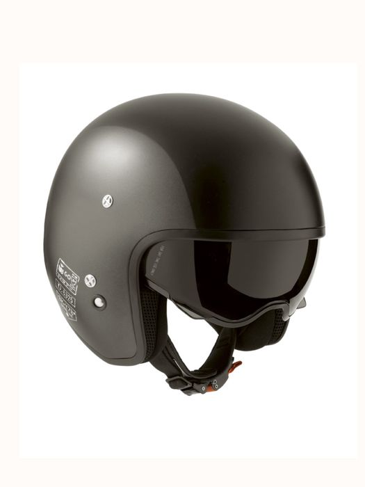 LIVING HI-JACK GREY/BLACK MATT Helmet E a