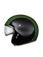 LIVING HI-JACK BLACK/GREEN Helmet E f