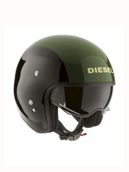 LIVING HI-JACK BLACK/GREEN Helmet E a
