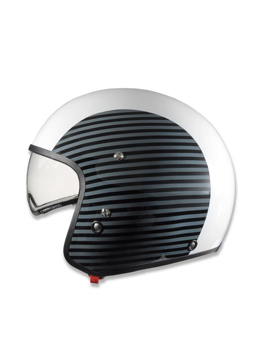 LIVING HI-JACK WHITE/STRIPES Casco E f