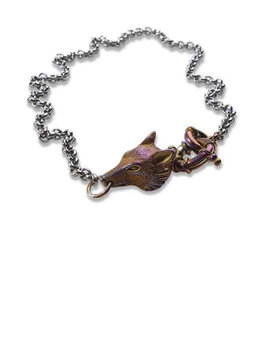 DIESEL BLACK GOLD WOLFYCHAIN-FS Cuff/Bracelet U f