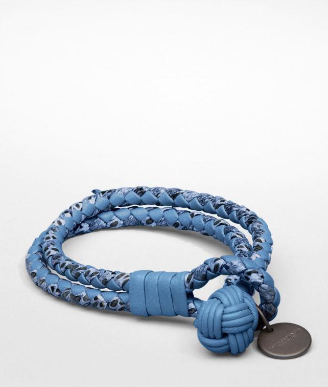 BOTTEGA VENETA Intrecciato Ayers Nappa Bracelet Leather Bracelet D fp