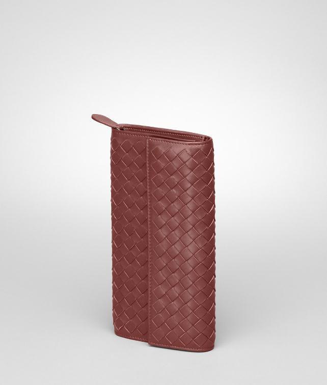 BOTTEGA VENETA Ebano Intrecciato Nappa Continental Wallet Continental Wallet D fp