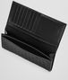 BOTTEGA VENETA CONTINENTAL WALLET IN NERO INTRECCIATO VN Continental Wallet U ap