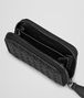 BOTTEGA VENETA COIN PURSE IN NERO INTRECCIATO NAPPA Card Case or Coin Purse Woman ap