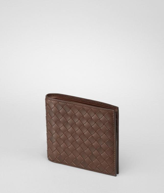 BOTTEGA VENETA NERO INTRECCIATO BI-FOLD WALLET Bi-fold Wallet U fp