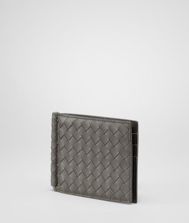 BOTTEGA VENETA WALLET IN NERO INTRECCIATO VN Bi-fold Wallet U fp