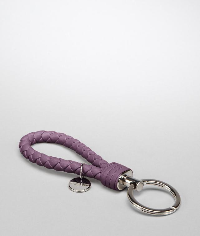 BOTTEGA VENETA Ebano Intrecciato Nappa Key Ring Keyring or Bracelets E fp