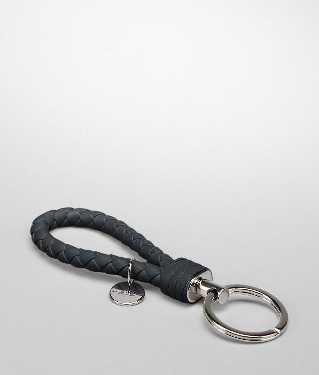 BOTTEGA VENETA SHADOW INTRECCIATO NAPPA KEY RING Keyring or Bracelets E fp