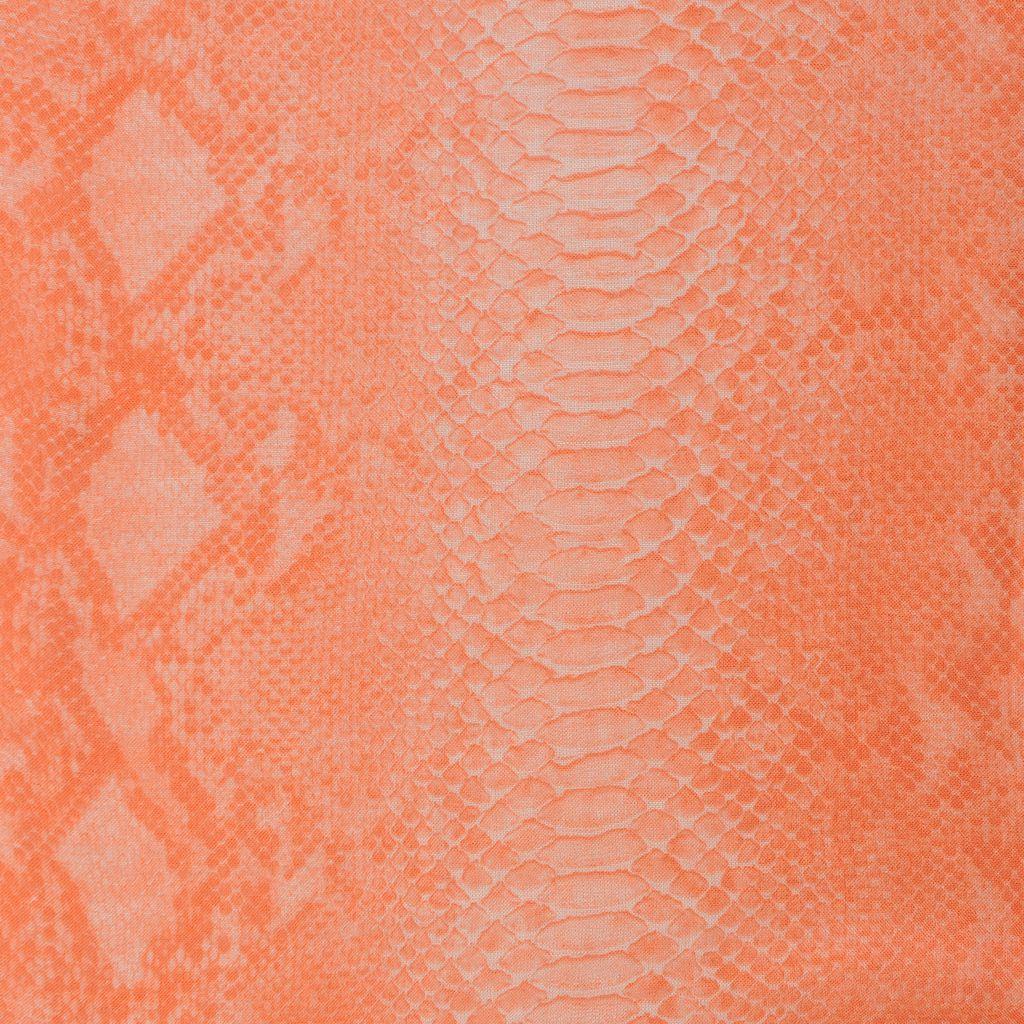 Schal aus Seidenmischung mit Python-Print  - STELLA MCCARTNEY