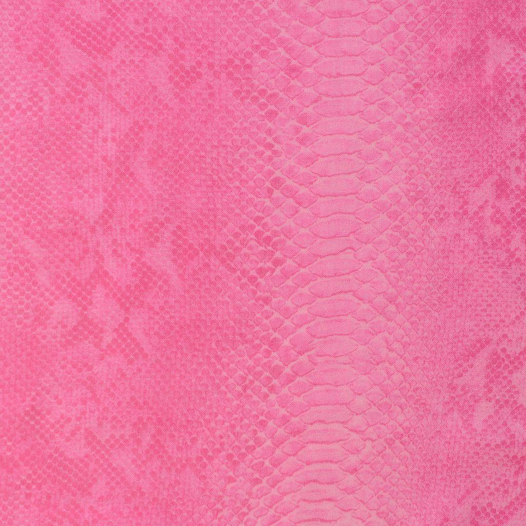 Écharpe en soie mélangée avec imprimé python - STELLA MCCARTNEY