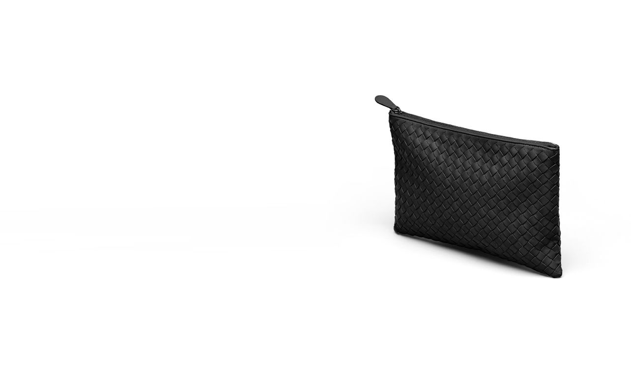 BOTTEGA VENETA Other Leather Accessory E DOCUMENT CASE IN NERO INTRECCIATO NAPPA pl