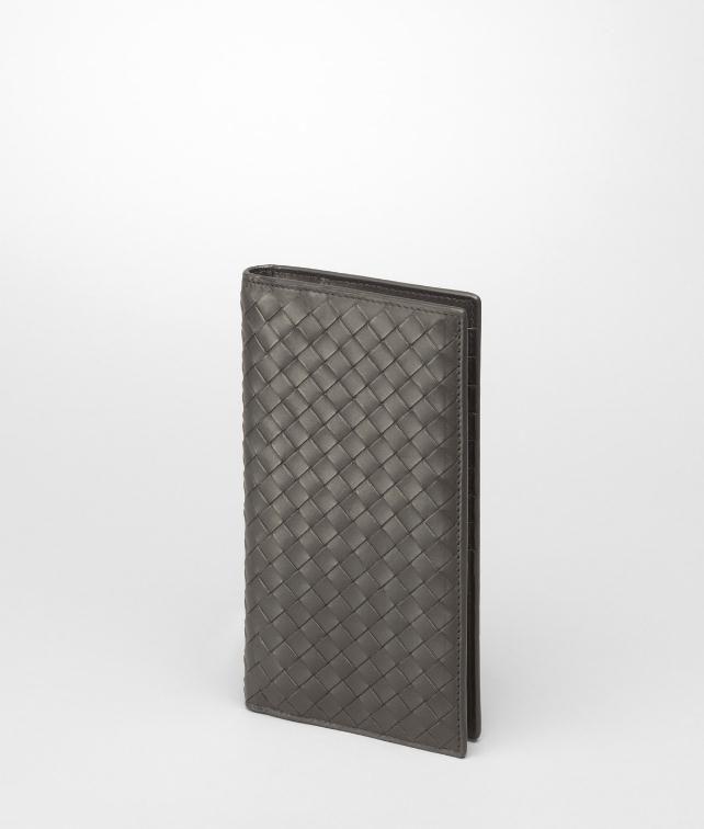 BOTTEGA VENETA Tourmaline Intrecciato Vachette Wallet Continental Wallet U fp