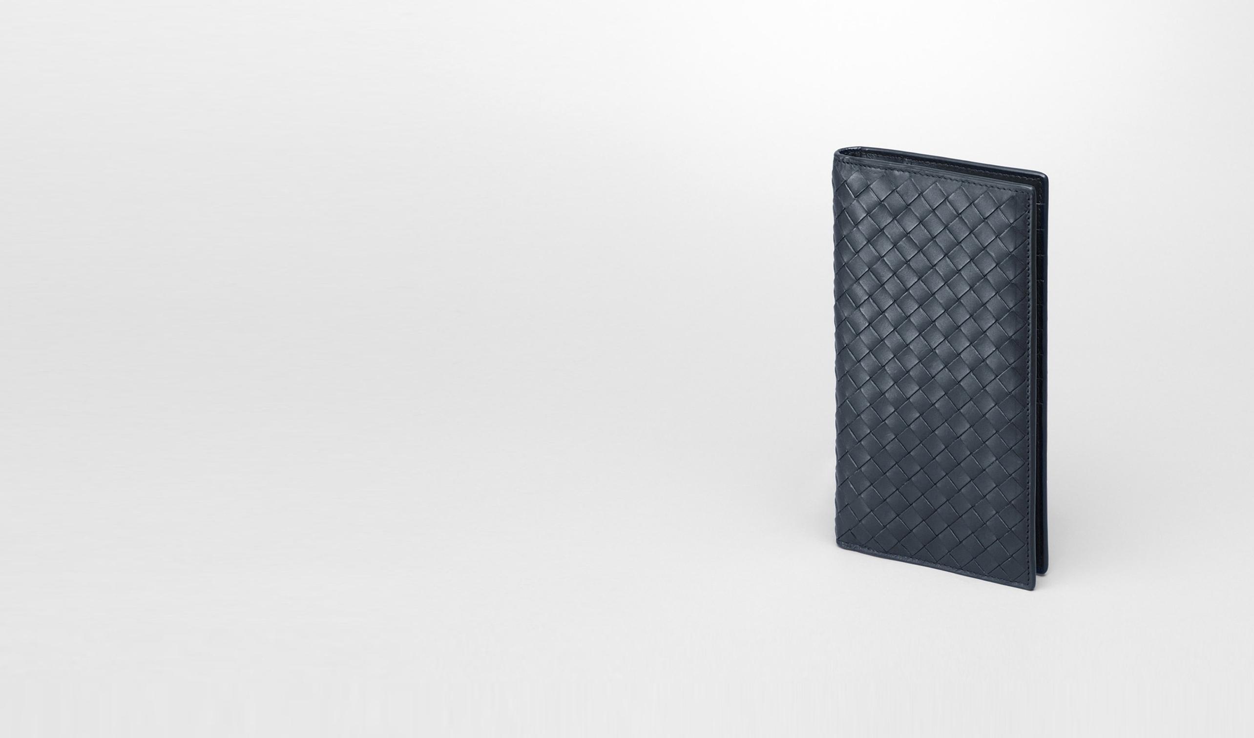 BOTTEGA VENETA Continental Wallet U Tourmaline Intrecciato Vachette Wallet pl