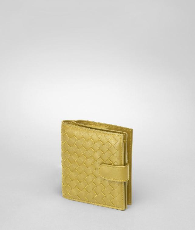 BOTTEGA VENETA Edoardo Intrecciato Nappa Bi-Fold Wallet Mini Wallet or Coin Purse D fp