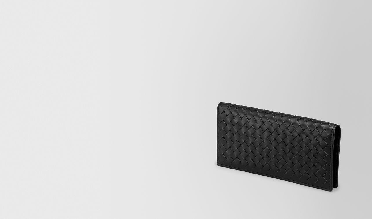 continental wallet in nero intrecciato vn landing