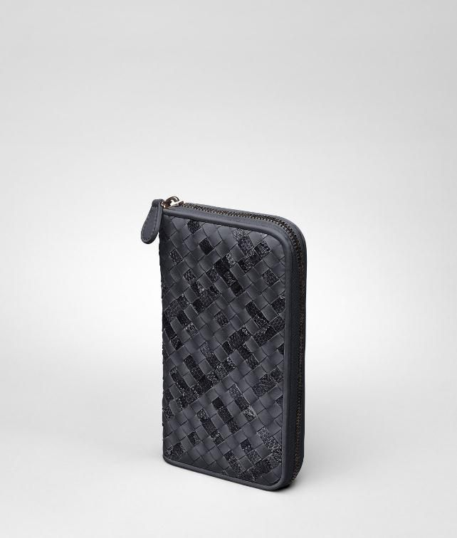 BOTTEGA VENETA Intrecciato Ayers Nappa Zip Around Wallet Wallet D fp