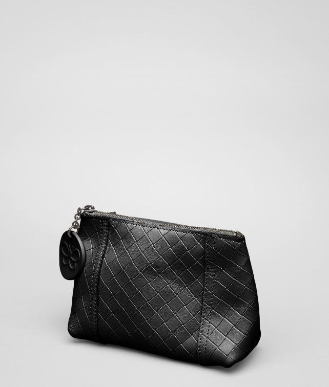 BOTTEGA VENETA Antique Intrecciomirage Cosmetic Case Other Leather Accessory D fp