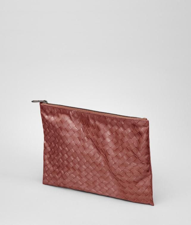 BOTTEGA VENETA Intrecciolusion Document Case Cosmetic Case D fp