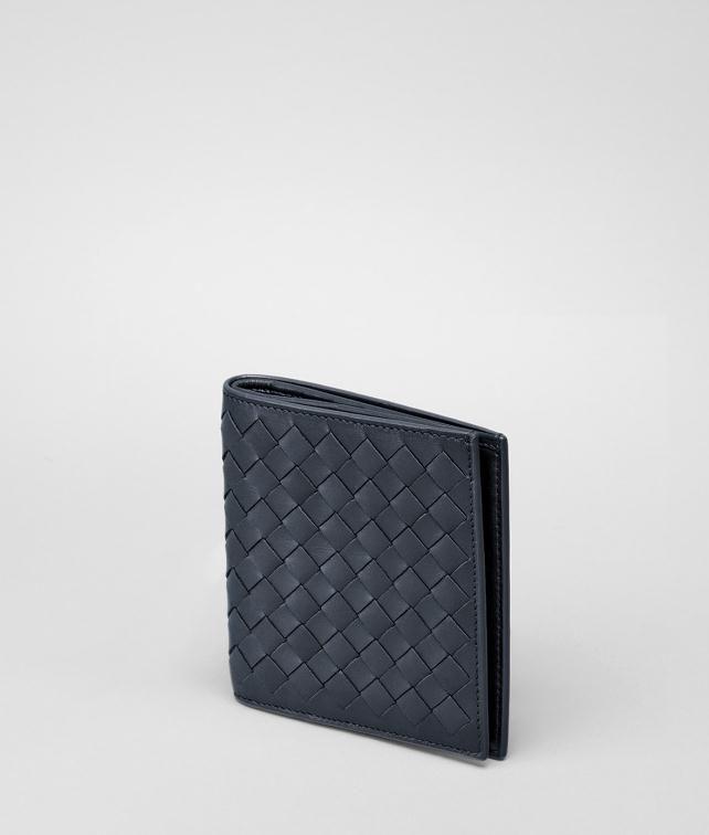 BOTTEGA VENETA Ebano Intrecciato VN Wallet Bi-fold Wallet U fp