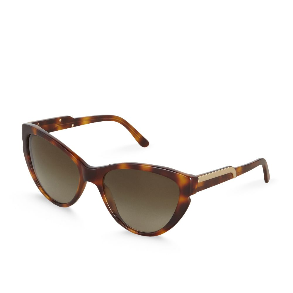 Gekrümmte Cat Eye-Sonnenbrille - STELLA MCCARTNEY