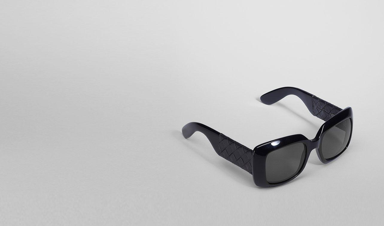 BOTTEGA VENETA Sonnenbrille D Brille BV 1000/S aus Azetat und Leder pl