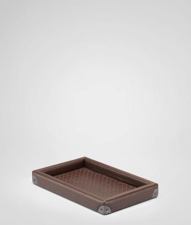 BOTTEGA VENETA Intrecciato Nappa Rectangular Tray Desk accessory E fp